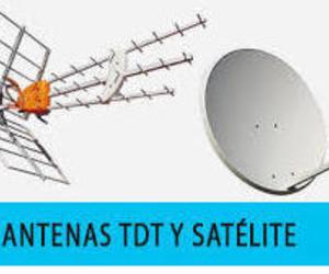 Antenas TDT y satélite