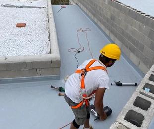 Impermeabilización con PVC