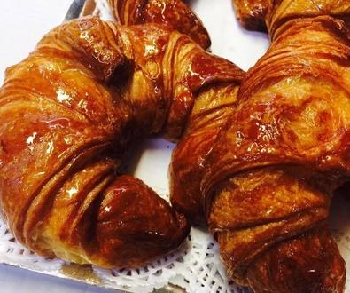 Croissants de mantequilla...¡una verdadera delicia