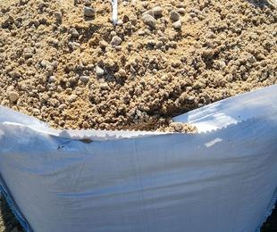 Revoltón de arena y gravilla
