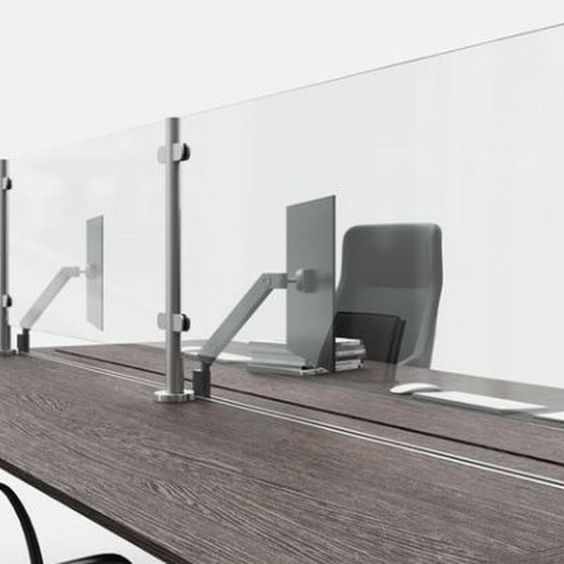 Separadores de mesa y mostrador: Productos de Grupo ForjaZaragoza