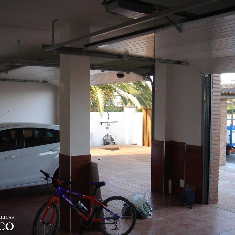 KIT Motor para puertas seccionales en Granada