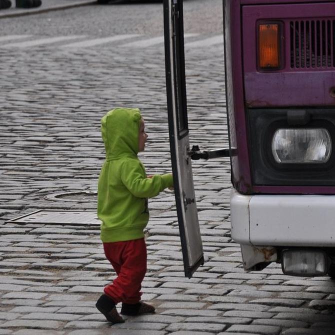 Como el autobús del colegio, pero mucho más divertido