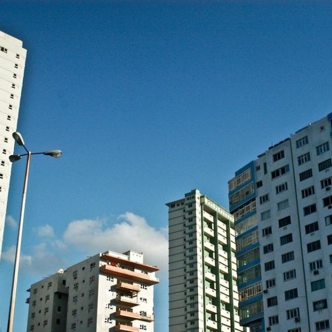 Los tipos de edificaciones