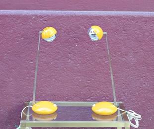 Pareja de lámparas Elchoff Werke