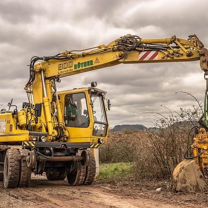 Los tipos de maquinaria para mover la tierra