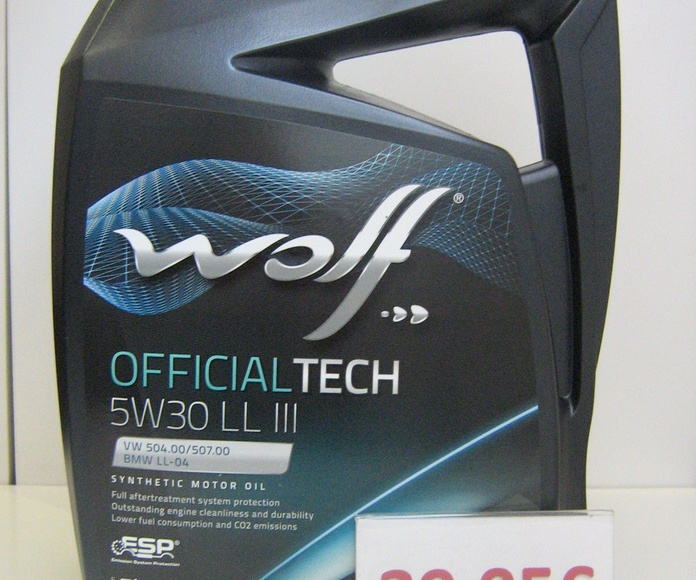 WOLF SYNFLOW  OFFICIALTECH LL 3 LONGLIFE    5W30: Servicios de Safety Car