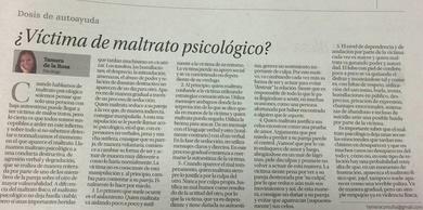 ¿VÍCTIMA DE MALTRATO PSICOLÓGICO?