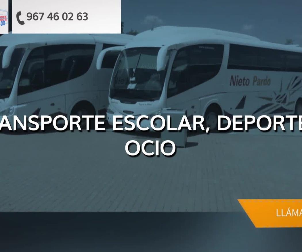 Autobuses para bodas en Albacete | Autocares Nieto Pardo