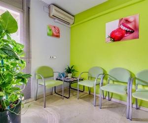 Recepción del Centro Dental Sant Fost