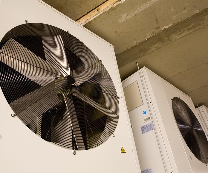 Ventilación: Servicios de Imc-Clima