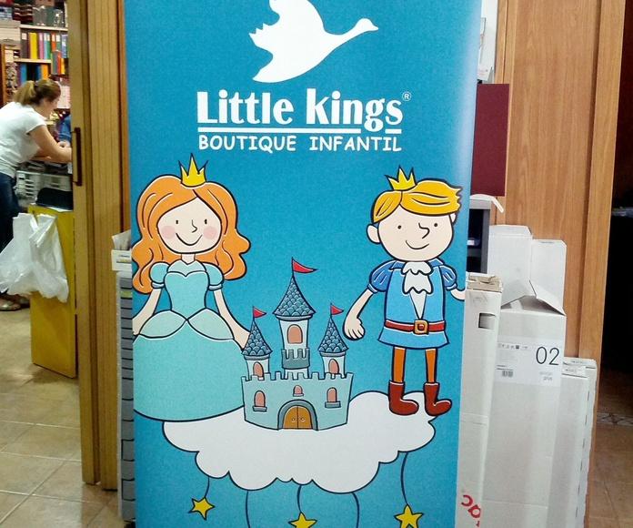Roll-up Little Kings. Boutique infantil - Tomelloso y Alcazar de San Juan
