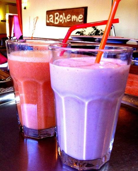 Smoothies y milkshakes: Crepes y mucho más de Crepería La boheme