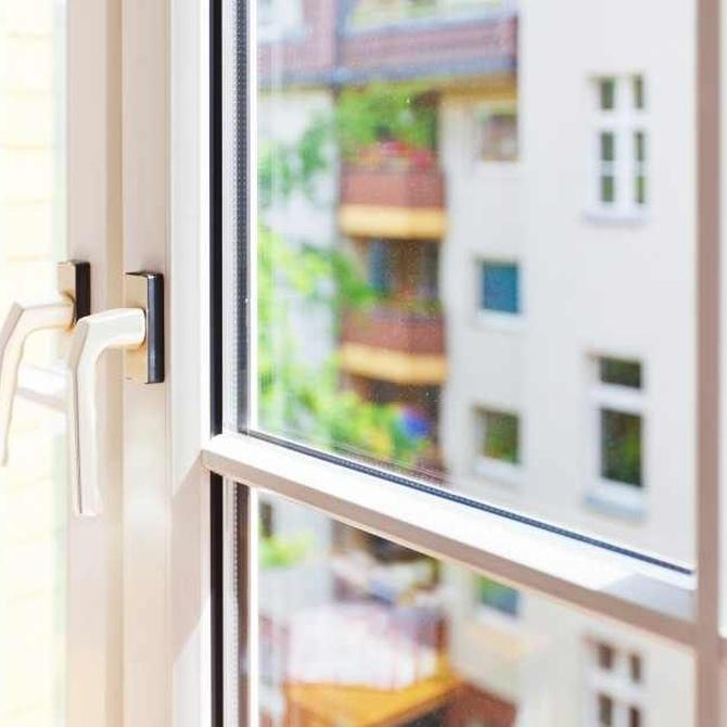 Si eliges ventanas de PVC