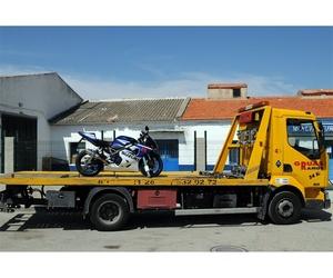 Servicio de grúa para motos en Griñón