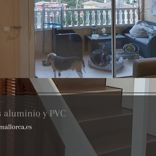 Instalación de carpintería metálica en Mallorca | Aluminios Mallorca