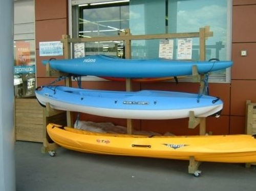 Soporte para canoas