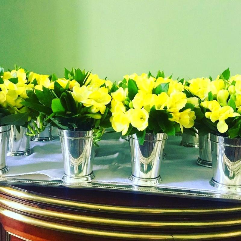 Centros florales para eventos y bodas.