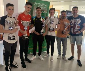 Campeones del campeonato de futbolín