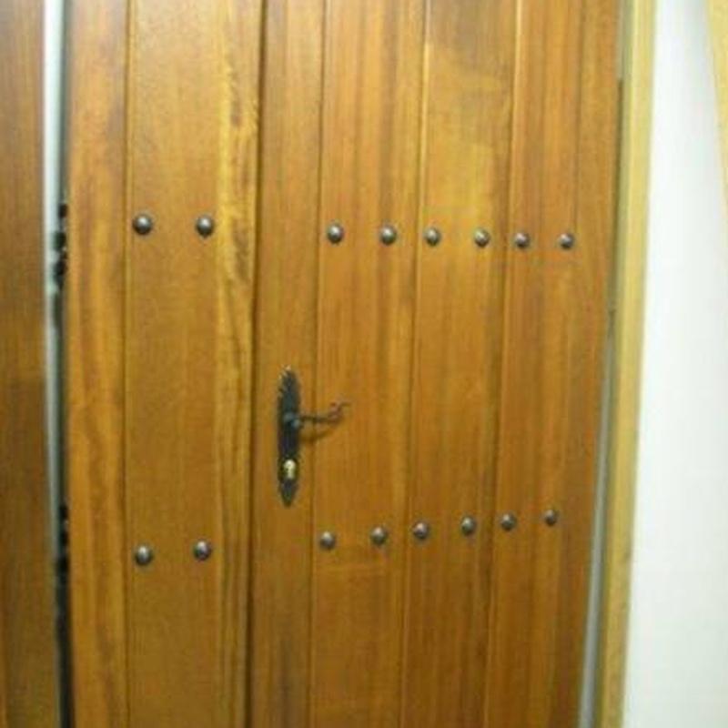 Puertas: Servicios de Carpintería Gosaen