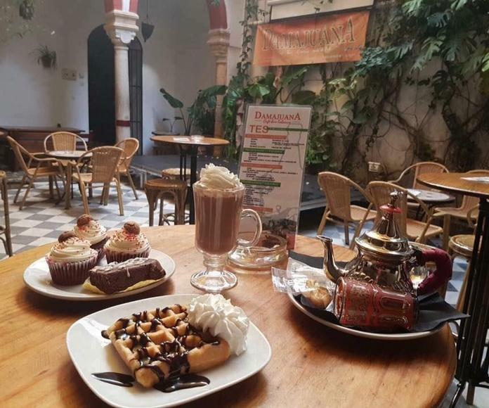 Cafés: Carta de Damajuana