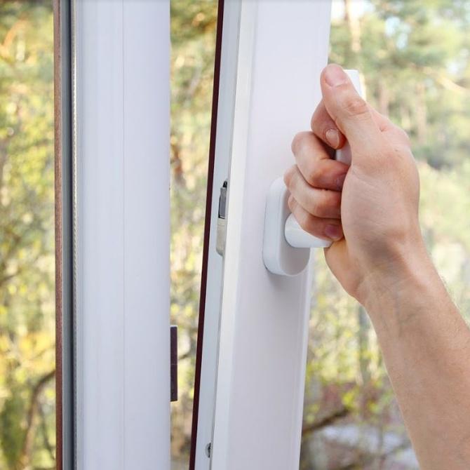 La protección de las ventanas de aluminio