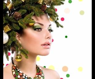 Maquillaje Navidad  2019 - 2020
