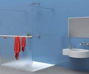 Mamparas de ducha sin perfil