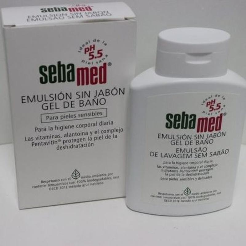 Sebamed emulsión sin jabón 100 ml: Catálogo de Farmacia Las Cuevas-Mª Carmen Leyes