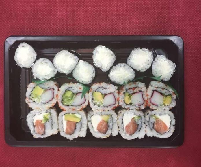Menú 8: Especialidades y menús de Sushikai Tarraco