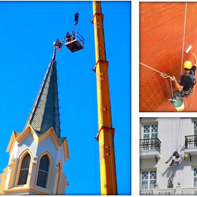 Trabajos verticales empresa en Santander.