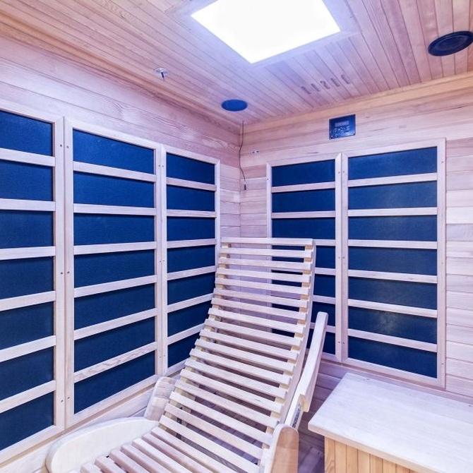 ¿Qué es una sauna de infrarrojos?