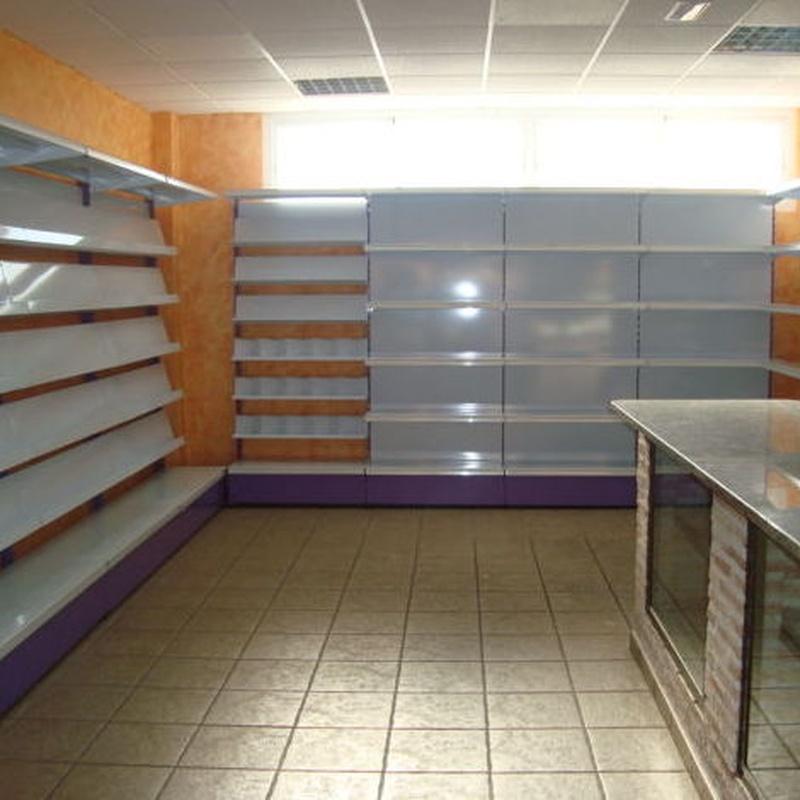 Estanterías para supermercados Málaga