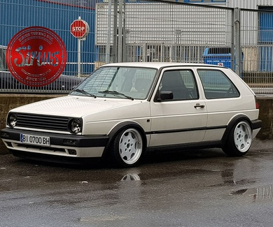 VW Golf 2 - Porsche Edition