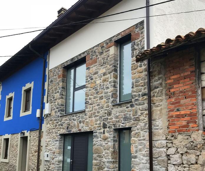 Trabajos en piedra: Construcciones  de Construcciones Espiniella