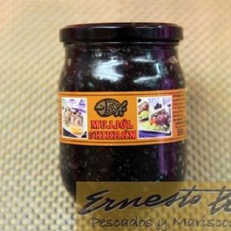 Caviar Mujjol: Productos de Ernesto Prieto