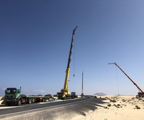 Grúas y transportes en Fuerteventura | Grúas Fuer