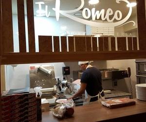 Vista de la cocina de nuestro restaurante Italiano