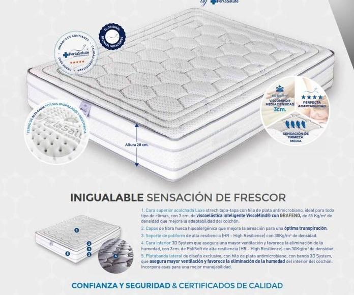 Colchones PerlaSalute: Productos de Crea Mueble