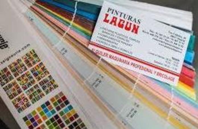 Pinturas Lagun venta de coloress a medida