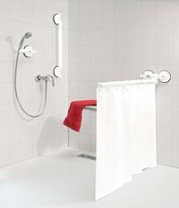 Barra para cortina de baño