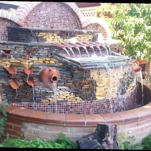 Fuente cascada