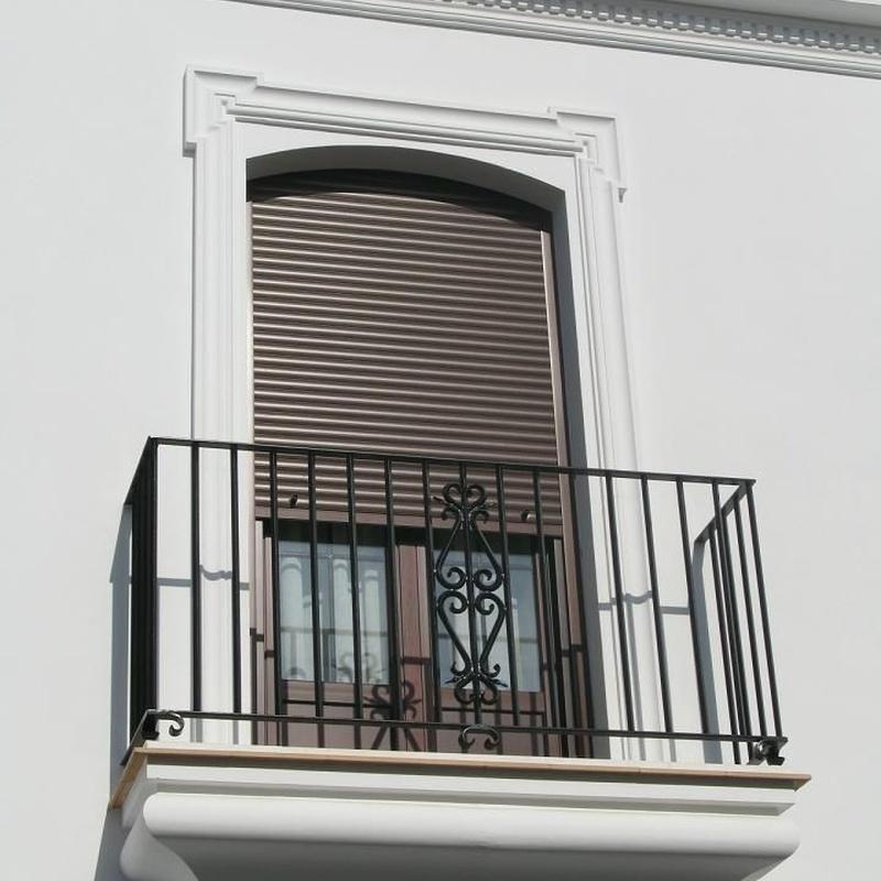 Balcón de una pieza