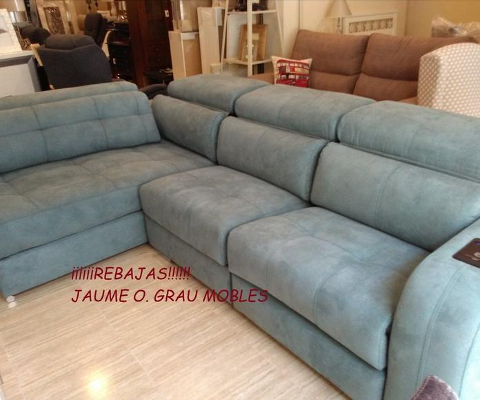 Rebajas de sofás: Mobiliario de Jaume O. Grau Mobles