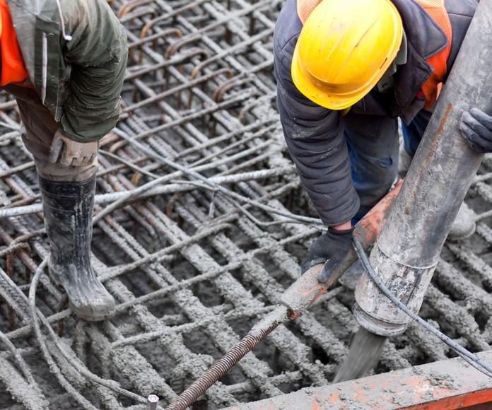 Forjados de hormigón: Productos de Estructuras y Encofrados Aguilar