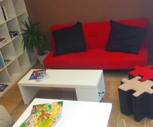 Zona de Estudios: Zona de Descanso y Lectura.