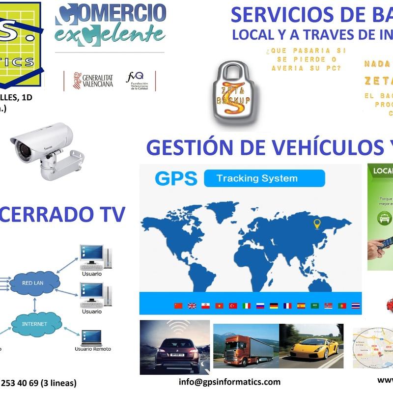 Soluciones: Servicios informáticos de G.P.S. Informàtics, S.L.