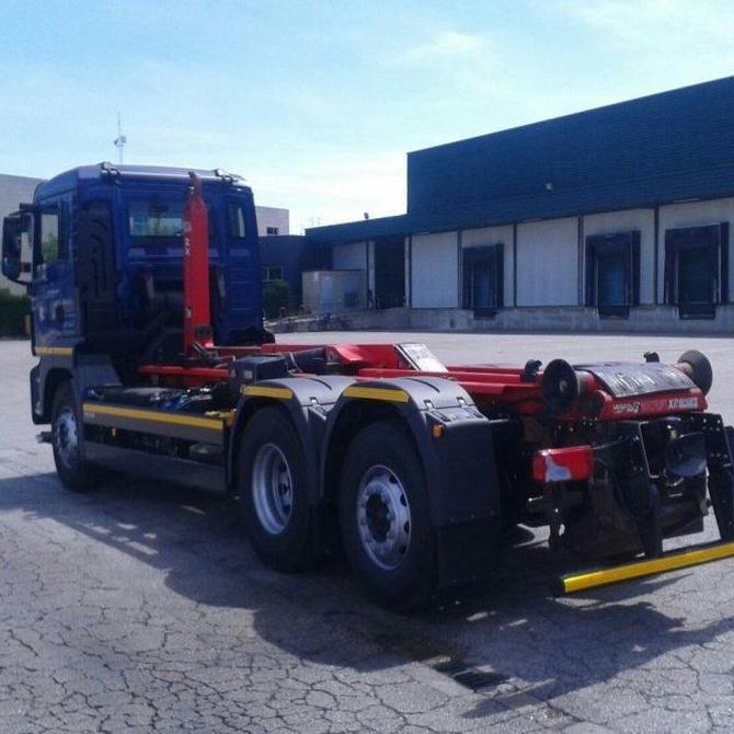 La seguridad con los camiones grúa
