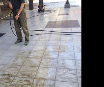 Limpiezas Industriales: NUESTROS SERVICIOS de Limpiezas Faiso, S.L.