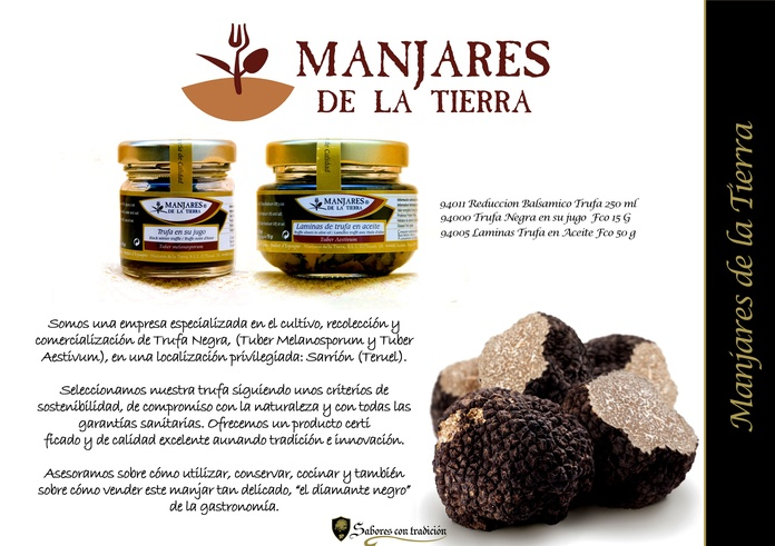 Manjares de la Tierra: Productos de Sabores con tradición